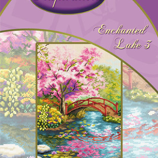 DMC INSPIRATIONS CROSS-STITCH KIT: ENCHANTED LAKE 3 (ECK-033)