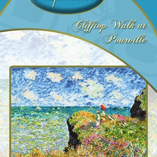 DMC INSPIRATIONS CROSS-STITCH KIT: CLIFFTOP WALK AT POURVILLE (ECK-039)