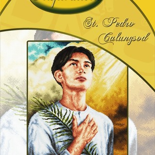 DMC INSPIRATIONS CROSS-STITCH KIT: SAINT PEDRO CALUNGSOD (ECK-045)