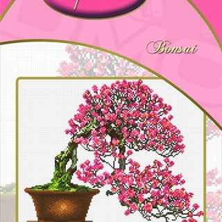 DMC INSPIRATIONS CROSS-STITCH KIT: BONSAI (ECK-047)