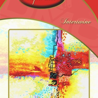DMC INSPIRATIONS CROSS-STITCH KIT: INTERTWINE (ECK-048)