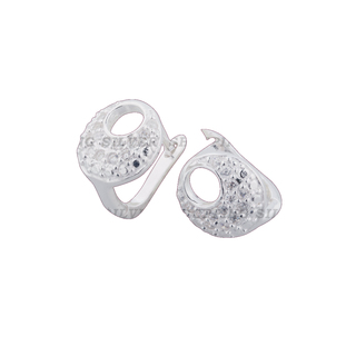Silver First Sterling Silver 925 Clip Earrings G533