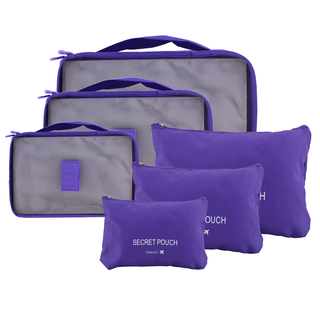 6 in 1 Packing Bags (Violet)