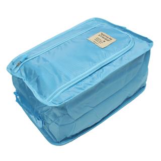 Foldable Shoe Bag (Light Blue)