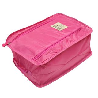 Foldable Shoe Bag (Pink)