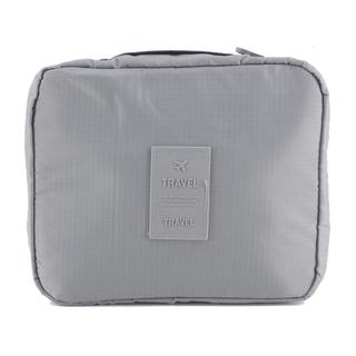 Travel Manila Toiletry Pouch Bag (Grey)