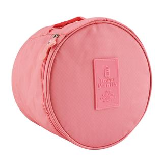 Travel Manila Bra Storage/Toiletry Bag (Salmon Pink)