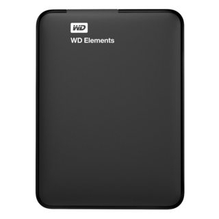 WD Elements WDBUZG0010BBK 1TB External Hard Disk (Black)