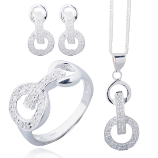 Silver First Sterling Silver 925 Fashion Set I015