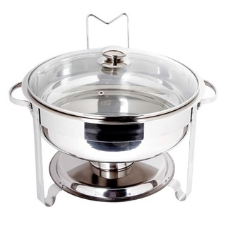 DOUBLE BOWL CHAFING DISH 31CM (7228)