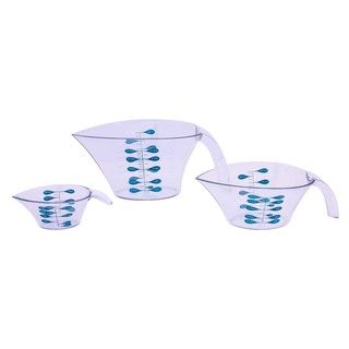 SET OF 3 TRUDEAU MEASURING CUPS (33326)