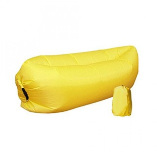 Air Bed Chair Bag - Yellow