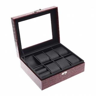 Jewelry Watchbox w/ 6 Compartments - MFDJWB6