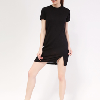 Sarah Knit Dress with Back zipper from Topmanila Clothing (Black)