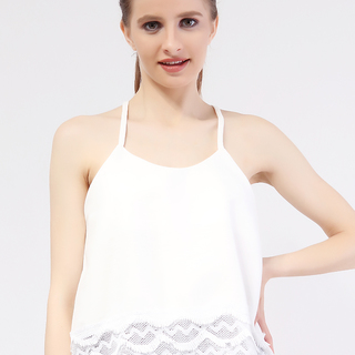 Mhy Lace String Top from Topmanila Clothing (Black)