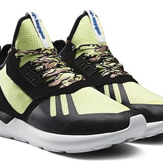 ADIDAS TUBULAR RUNNER (LT. GREEN, BLACK) (B25951)