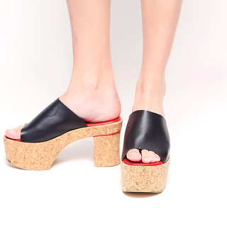 M&G Brandy Platforms - Sky High MG551 (Black)