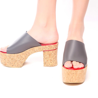 M&G Brandy Platforms - Sky High MG551 (Gray)