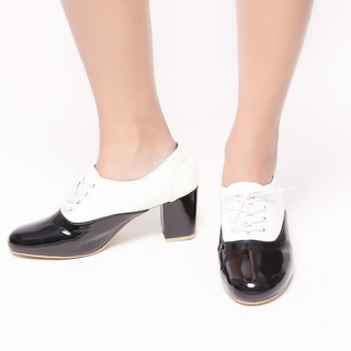 M&G Amalia Heels MG300 (Black White)