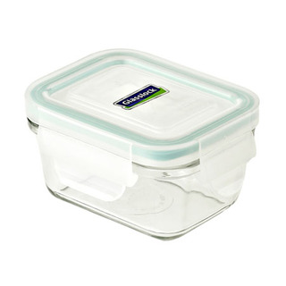 Glasslock Rectangle Type Food Keeper 180ml - MCRB018