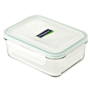 Glasslock Rectangle Type Food Keeper 1100ml - MCRB110