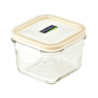 Glasslock Square Type Food Keeper 210ml - MCSB021