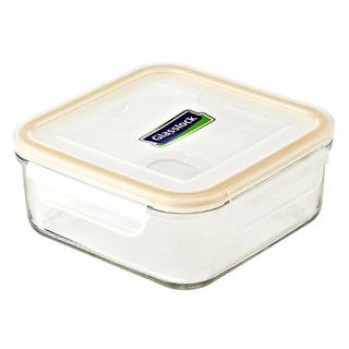 Glasslock Square Type Food Keeper 900ml - MCSB090