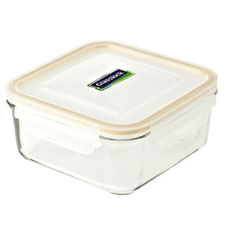 Glasslock Square Type Food Keeper 1200ml - MCSB120