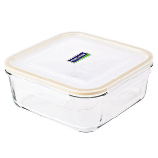 Glasslock Square Type Food Keeper 2600ml - MCSB260