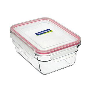 Glasslock Oven Safe Rectangle Food Keeper 970ml - OCRT090