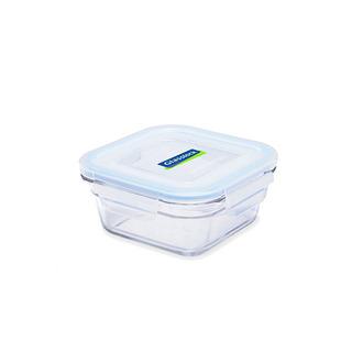 Glasslock Oven Safe Square Food Keeper 405ml - OCST040