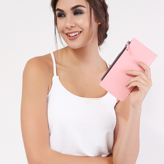 Milky Way Baby pink Classy Wallet (One SIze)