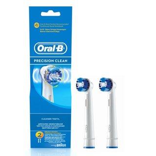Braun Oral - B Precision Clean Brush Heads (EB 20-2)
