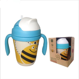 YOOKIDOO Bamboo Fibre Straw Cup Bee (PP-YOOKIDOO-SCUP-BEE)