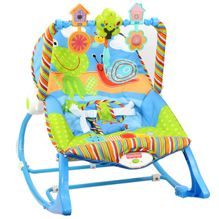 Fisher Price X7033 Infant-to-Toddler Rocker Gender Neutral Frog/Snail (PND-FISH-FROGSNAIL)