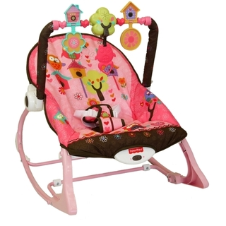 Fisher Price Newborn to Toddler Rocker (Pink Owl) (PP-FP-PINKOWL)