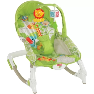 Fisher Price Rainforest Newborn to Toddler Rocker (PP-FP-RAINFOREST-GREEN)
