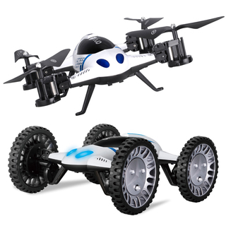 Lishitoys L6055 Functional Quadcopter Car / Copter Mode 3D Rollover 2.4G 6CH 6-axis Gyro (PND-L6055)