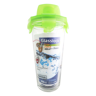 Glasslock Shaker Type Container 450ml Green (PC318GRN)