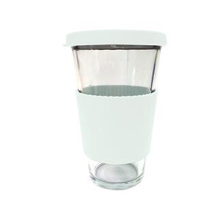 Glasslock Classy Tumbler Type Glass 500ml White (RC106RS-WHT)
