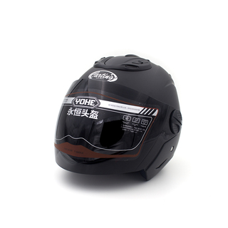 Motorcycle Lightweight Helmet HNJ-993XL (Black) HN993BXL