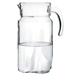 Pasabahce Luna Pitcher with Cover 1700cc (43544)