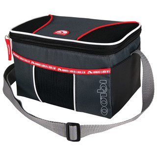 Igloo Hard Lined Cooler HLC-6 Bag  - Red (159936 red)