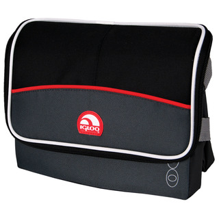 Igloo Collapse and Cool 6 Tech Lunch Bag  - Tech Red (159753 cc tech red)