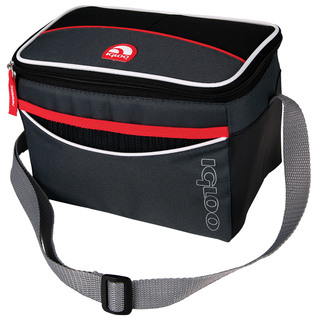 Igloo Soft 6 Tech Lunch Bag  - Tech Red (159777 soft tech red)