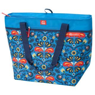 Igloo Thermal Tote 56 Grocery Bag  - Cobalt Folk Floral (160724)