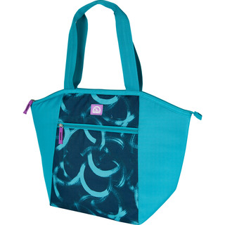 Igloo Circle Brush Strokes Everyday Tote  - Teal (160770 teal)