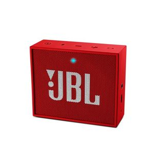JBL Go Portable Bluetooth Speaker with Speaker Phone Function (Red)