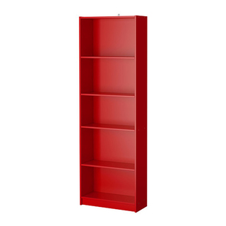 IKEA FINNBY Bookcase (Red)