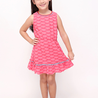 BASICS FOR KIDS GIRLS DRESS - RED (G905302-G905322